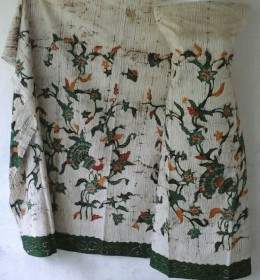 Batik Madura Motif Serat Kayu