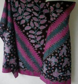 Batik Tulis Madura Motif Flora Fauna