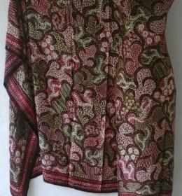 Batik Tulis Kain Sutra