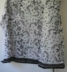 Batik Hitam Putih