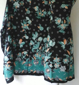 Batik Tulis Motif Kupu - Kupu