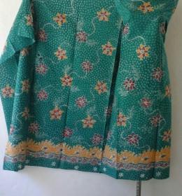 Batik Warna Hijau Tozca